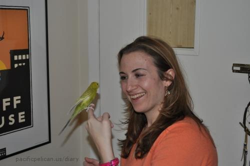 Jessica with Ava