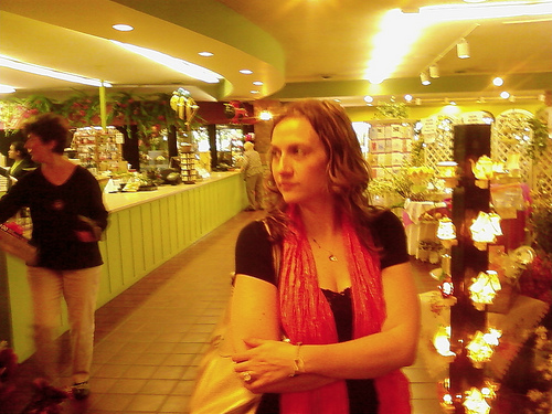 Jessica at Pesche's Flowers