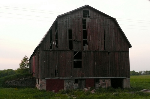 Old Barn on Webster Road