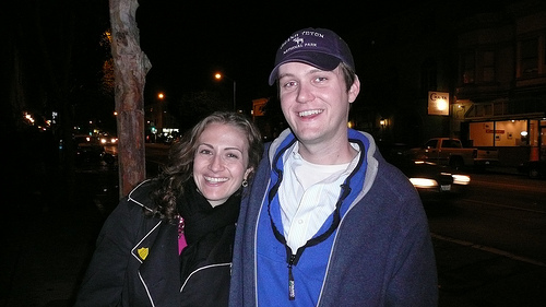 Jessica and Dan in San Francisco