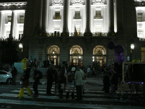 Civic Center during LoveFest 2007
