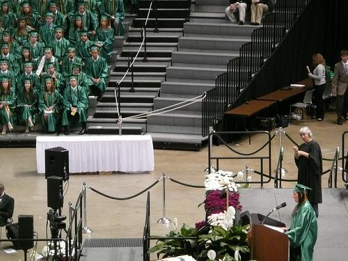 MSU graduation