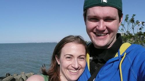 Jessica and me at Lakewood Park
