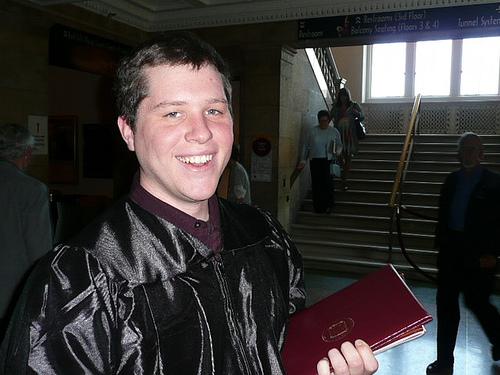 Jim after graduation