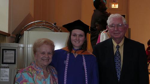 Grandma, Ellen and Grandpa