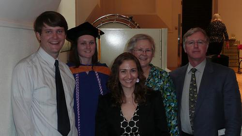 Dan, Ellen, Jessica, Mom and Dad