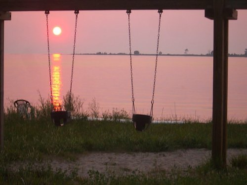 Swings at Sunset