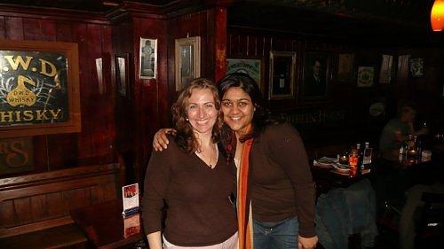 Jessica and Reena
