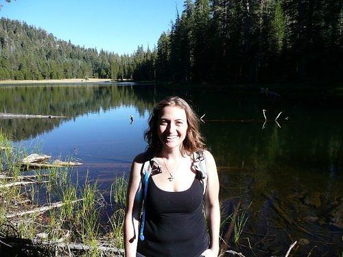 Jessica at Yosemite