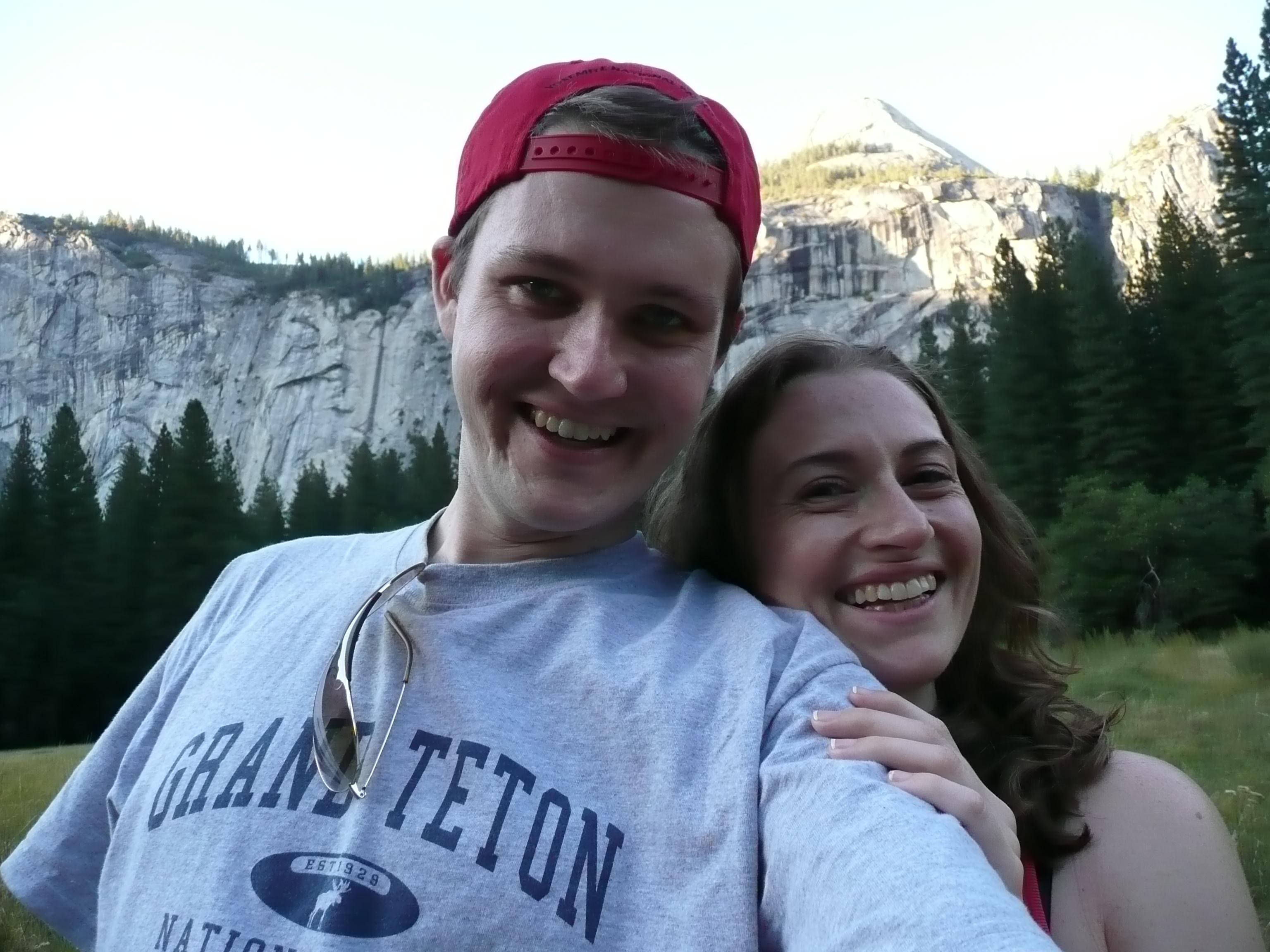 Dan and Jessica, Sept. 2007, at Yosemite National Park