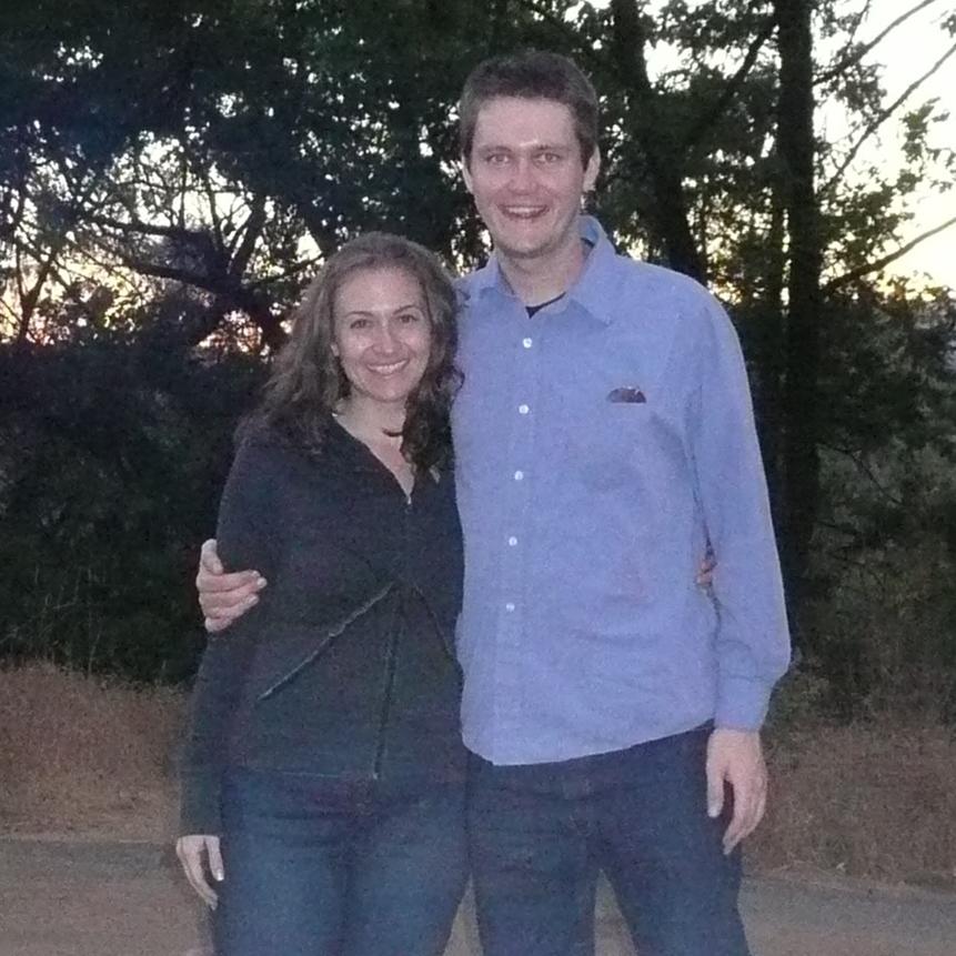 Jessica and Dan, near Yosemite, September 2007