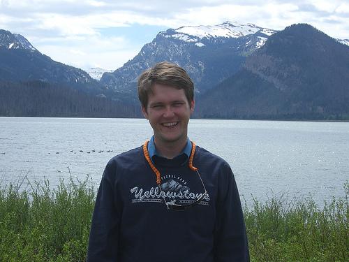 Dan at Grand Teton National Park, June 2007
