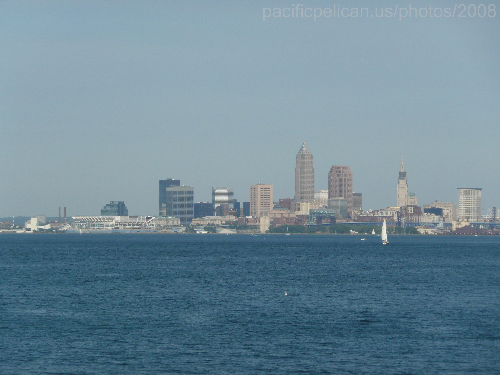 downtown Cleveland, 2008