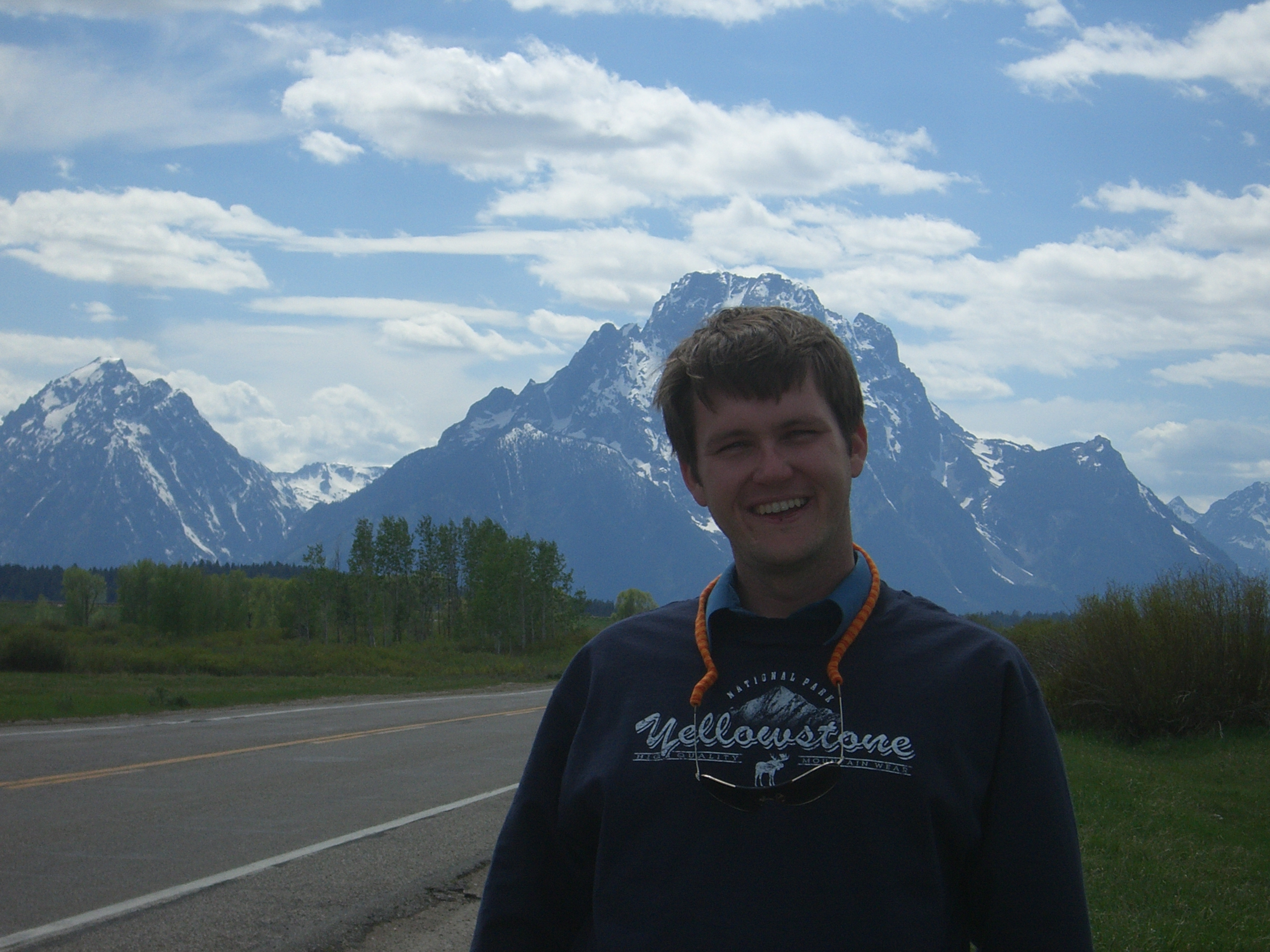 at Grand Teton National Park, June 2007, photo by Jessica