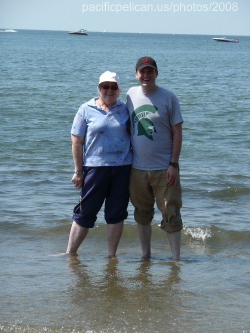 Momand Dan in lake erie August 2008