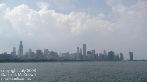 Chicago skyline by Daniel J. McKeown, 2008