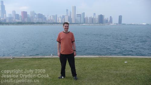Chicago skyline by Daniel J. McKeown, copyright 2008